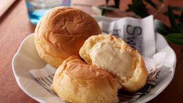 Cream cheese Bun Hattendo Café Hong Kong